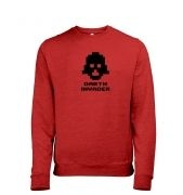 Darth Invader men's heather sweatshirt