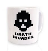 Darth Invader ceramic coffee mug