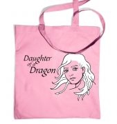 Daughter of a Dragon premium tote bag