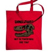 Dinosaurs Not So Tough tote bag