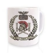 Distressed House Batiatus Crest mug