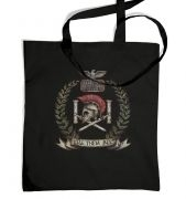 Distressed House Batiatus Crest tote bag