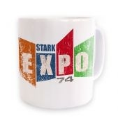 Distressed Stark Expo  mug