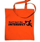 Don't Hurt The Intersect tote bag