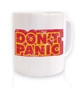 Don't Panic ceramic coffee mug