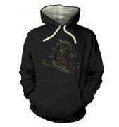Gold Dragonslayer premium hoodie
