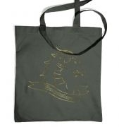 Gold Dragonslayer tote bag