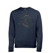 Gold Dragonslayer men's heather sweatshirt
