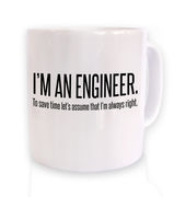 Engineer Always Right mug