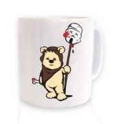 Evil Ewok ceramic coffee mug