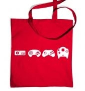 Evolution Of Sega tote bag