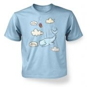 Falling Whale kids' t-shirt