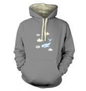 Falling Whale premium hoodie