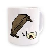 Flipping Tables 3D mug 