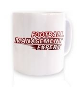 Football Management Expert mug