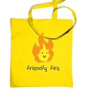 Friendly Fire tote bag