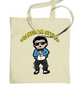 Gangnam Style tote bag 