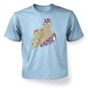 Genius Billionaire kids' t-shirt