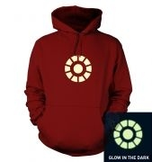 Arc Reactor (glow in the dark) hoodie