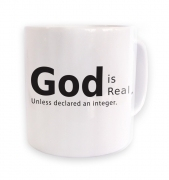 God is Real  mug