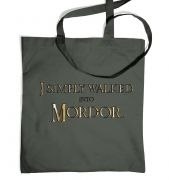 Gold I simply walked into Mordor tote bag