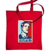 Governor retro poster tote bag