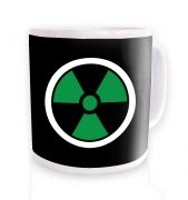 Green Radiation Symbol mug