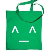 JapaneseStyle Happy Emoticon tote bag
