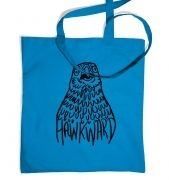 Hawkward tote bag