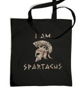 Men's I Am Spartacus tote bag