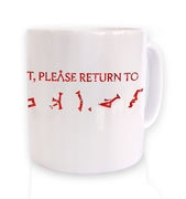If lost please return to Earth mug
