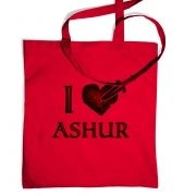 I Heart Ashur tote bag