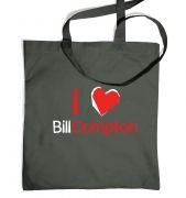I heart Bill Compton premium tote bag