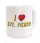I heart Captain Picard mug