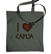i heart capua tote bag