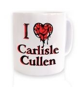 I Heart Carlisle Cullen ceramic coffee mug