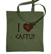 I Heart Castus tote bag