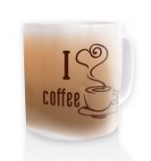 I heart Coffee Mug - Natural