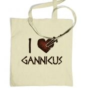 I heart Gannicus tote bag 