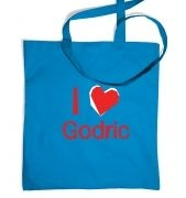 I Heart Godric tote bag