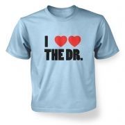 I Heart Heart The Dr - Dr Who - Kids T-Shirt