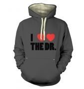 I Heart Heart The Dr - Dr Who - Premiuim Hoodie