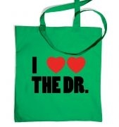 I Heart Heart The Dr tote bag