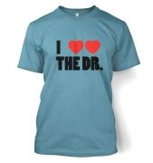 I Heart Heart The Dr - Dr Who - T-Shirt