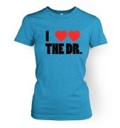 I Heart Heart The Dr women's t-shirt