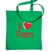I Heart Pam tote bag