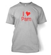 I Heart Pam  t-shirt