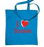 I heart Sookie tote bag