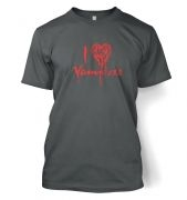 I Heart Vampires men's t-shirt