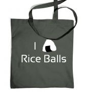 I Love Rice Balls! Japanese tote bag